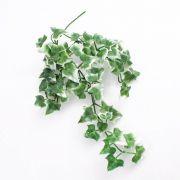 Cespuglio di edera di plastica QUILL su stelo, verde-bianco, 35cm
