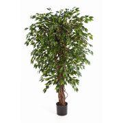 Albero di ficus finto DAKU, tronchi naturali, verde, 90cm