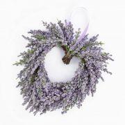 Cuore di lavanda tessile SENJA, viola, Ø20cm