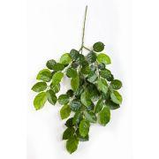 Ramo di faggio con 60 foglie, verde, 75cm, ritardante di fiamma