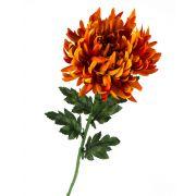 Crisantemo di simulazione KESARA, arancione, 65cm, Ø16cm
