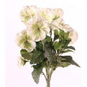 Viola del pensiero finta HILDE su gambo, bianco-verde, 30cm, Ø8cm