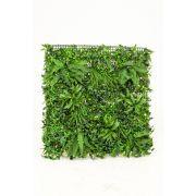 Tappeto di erba, bosso e felce artificiale LORENZA, zona trasversale, 100x100cm
