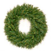 Corona di abete finto EDINBURGH, verde, Ø60cm