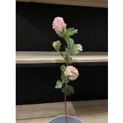 Künstlicher Schneeball IOLANI, rosa, 80cm
